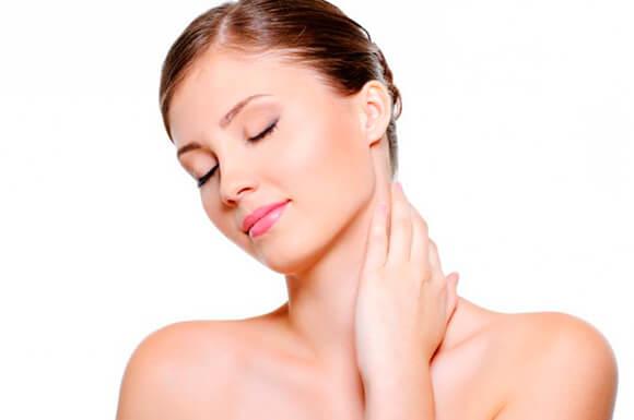 Маски от морщин на шее