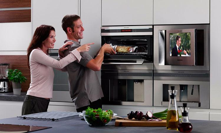 Где поставить телевизор на кухне