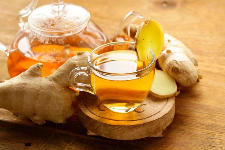 Чай с имбирем и лимоном - для похудения рецепт