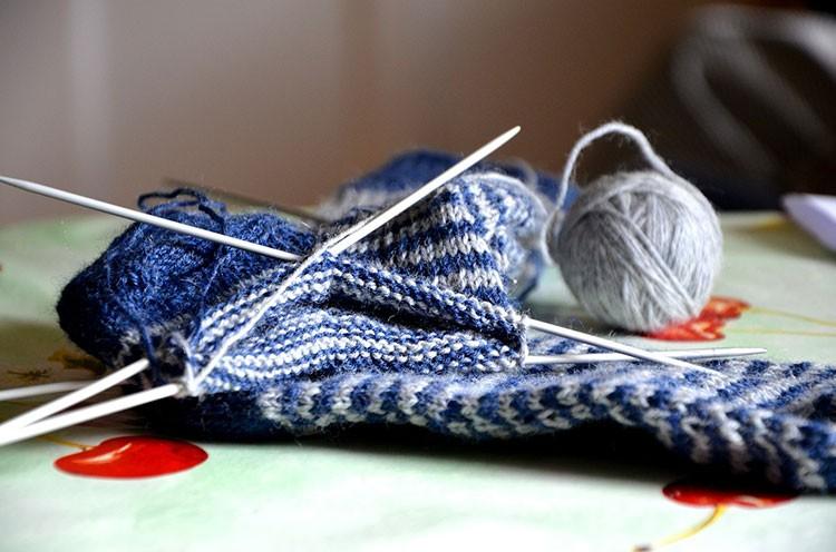 Связать красивые носочки