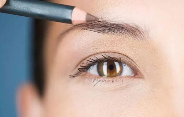 Как правильно красить брови карандашом пошагово