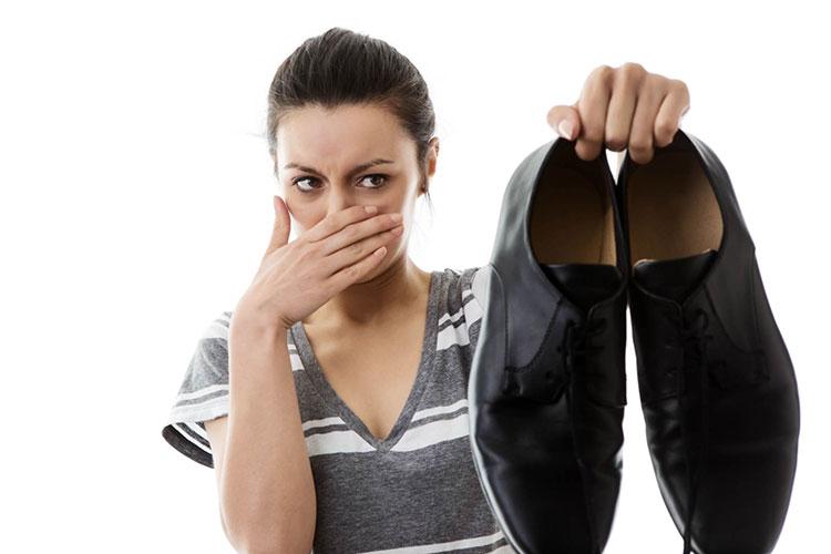 Лайфхаки запах ботинок