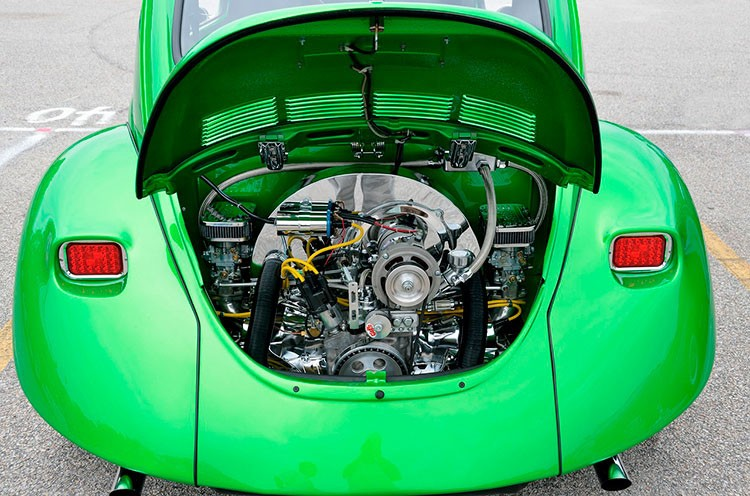 Как и когда проще всего помыть двигатель?